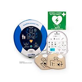 HeartSine Defibrillator SAM 350P, AED, 8 Jahre Garantie, 4 Jahre Versicherungsschutz