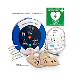HeartSine Defibrillator SAM 500P, AED, mit Sprachanweisung, 8 Jahre Garantie