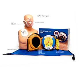 HeartSine Defibrillator Trainings-Komplett-Paket SAM 350P, Trainer mit Fernbedienung