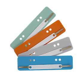 Hechtstrips PP, gekleurd, A5, met PP dekblad, diverse kleuren,100 stuks