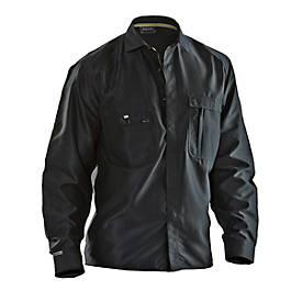 Hemd schwarz L