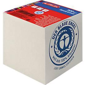Herlitz kubusblok gerecycled, milieuvriendelijk papier, 900 vellen, 90 x 90 x 90 cm