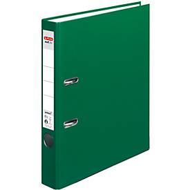 herlitz Ordner maX.file protect, DIN A4, Rückenbreite 50 mm, grün