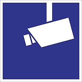 Hinweisschild: Videoüberwachung