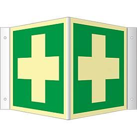 Hoekbord EHBO, eerste hulp