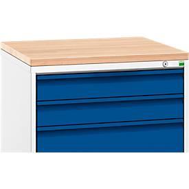 Holzauflage, für Schubladenschränke Verso, Breite wahlweise 650 oder 1050 mm