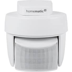 Homematic IP Bewegungsmelder, mit Dämmerungssensor, für außen, Smart Home, weiß