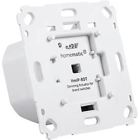 Homematic IP Dimmaktor, Unterputz, für Markenschalter, Phasenabschnitt, Smart Home