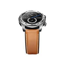 HONOR Watch Magic - Moonlight Silver - intelligente Uhr mit Band - braun