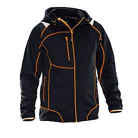Hoodie Vision Lite schwarz/orange 3XL