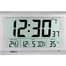 Horloge radio pilotée LA POLYVALENTE, digitale, 410 x 270 mm