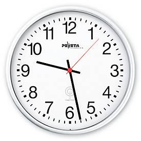 Horloge radio pilotée L'ALTERNATIVE, avec cadran à chiffres, Ø 300 mm