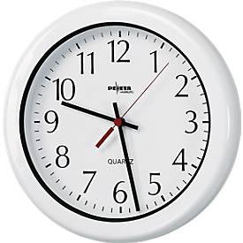 Horloge ROBUSTE avec cadran à chiffres, Ø 300 mm, pour locaux humides