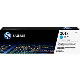 HP 201X Color LaserJet CF401X Druckkassette cyan
