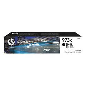 HP 973X - Hohe Ergiebigkeit - Schwarz - Original - PageWide - Tintenpatrone