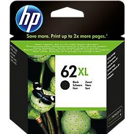 HP Cartouche d'encre n° 62XL, C2P05AE, noir