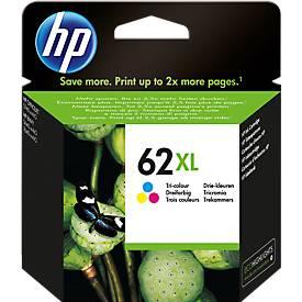 HP Cartouche d'encre n° 62XL, C2P07AE, tricolor