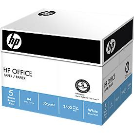HP Kopierpapier Office Maxi-Box, ungeriest,  3+1 Karton