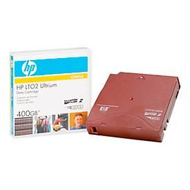 HP LTO-2 Ultrium Datenkassetten, rot, 200 GB, 400 GB bei 2:1 Komprimierung