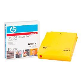 HP LTO-3 Ultrium Datenkassetten, goldgelb, 400 GB, 800 GB bei 2:1 Komprimierung