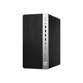 HP ProDesk 600 G4 - Micro Tower - Core i7 8700 3.2 GHz - 8 GB - 256 GB - German