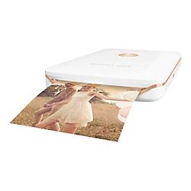 HP Sprocket Plus Photo - drucker - Farbe - Zink - mit HP ZINK Fotopapier mit klebender Rückseite (10 Blätter)