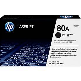 HP Toner Color LaserJet CF280A, nr 80A, noir