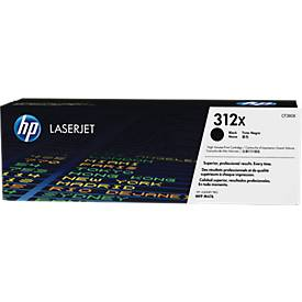 HP Toner Color LaserJet CF380X ,N° 312X, noir