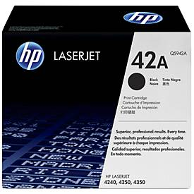 HP toner HP Q5942A|42 A Tonercartridge zwart, 10.000 Paginas/5%