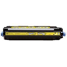 HP toner HP Q7582A Tonercartridge geel, 6.000 Paginas/5%