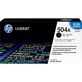 HP Tonercartrdige Color LaserJet CE250A, nr. 504A, zwart