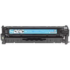 HP tonercartridge Color LaserJet CC531A, cyaan