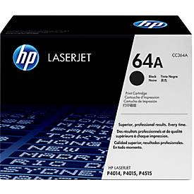 HP tonercartridge  LaserJet  CC 364 A, zwart