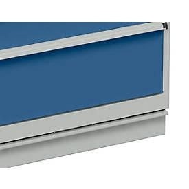 Hubwagensockel für Schubladenschrank 715 mm Breite