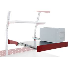 Hüdig+Rocholz Auszugboden System Flex, Nutzfläche 920 x 500 mm, höhenverstellbar