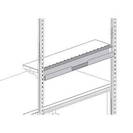 Hüdig+Rocholz Kabelkanal System Flex, zur Montage am Ablageboden