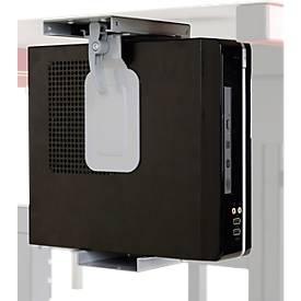 Hüdig+Rocholz Thin Client Holder System Flex, verstelbaar, voor zelfmontage.