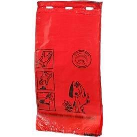 Hundekotbeutel, rot, 1000 Stück