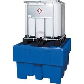 IBC-station PE zonder bedieningsvlak 1280x1660x860x860 mm