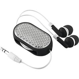In-Ear Kopfhörer Coloursound, mit Kabel, ausziehbar, mit Reflektor