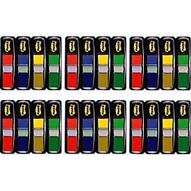 Index smal voordeelpak voordeelpak van 6 stuks (4 + 2 GRATIS): rood, blauw, groen, geel