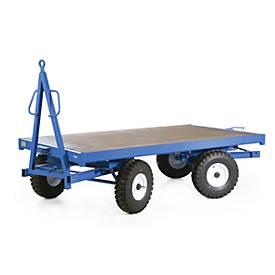 Industrie-Anhänger, Doppel-Drehschemel-Lenkung, Luft-Reifen, 2000 kg