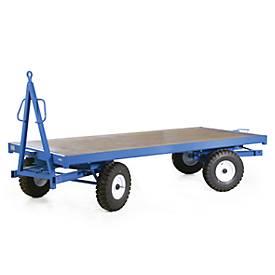 Industrie-Anhänger, Doppel, Luft-Reifen, Tragkraft 3000 kg