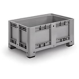 Industriebox, mit 4 Füßen, geschlossen, 330 Liter