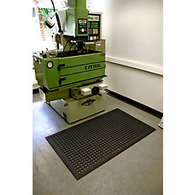 Industriematte Worksafe, schwarz, 900 x 1500 mm