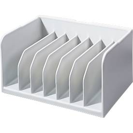 INKiESS® Ablagekorb BF 7, DIN A5, Kunststoff, 7 Fächer