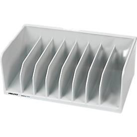 INKiESS® Ablagekorb BF-8, DIN A6, Kunststoff, 8 Fächer