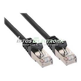 InLine Patch-Kabel - 50 m - Schwarz