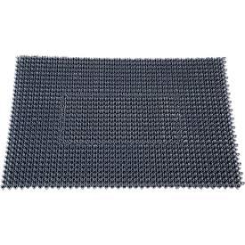 Inloopmat Step In, van polyetheen, voor binnen en buiten, 570 x 860 mm, donkergrijs
