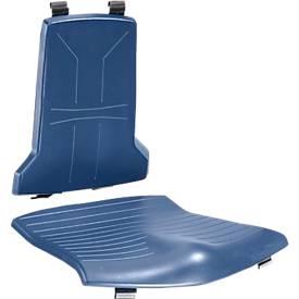 Integraalschuim-kussen, blauw, voor Sintec werkstoel